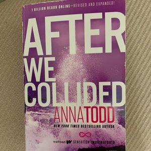 """Other - Anna Todd """"After we collided"""" Book Series"""